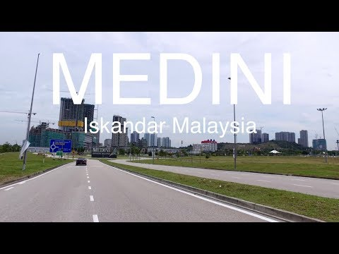 City of Medini Iskandar Malaysia, the Site Progress- 14 Oct 2017
