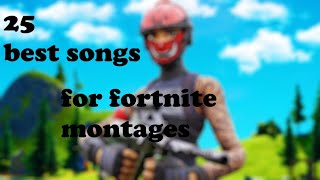 25 Best Songs to use in a Fortnite Montage/Video!