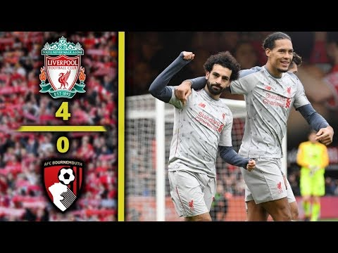 LIVERPOOL 4-0 BOURNEMOUTH I Skrót meczu Mp3