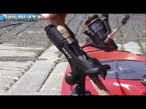 Rod Holder For Spinning Reel