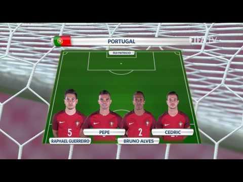 Match 5: Russia v Portugal -Team Lineups - FIFA Confederations Cup 2017