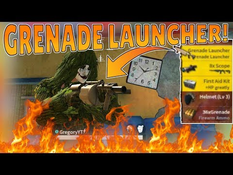 *NEW* GRENADE LAUNCHER GAMEPLAY! Overpowered?! (Rules of Survival)