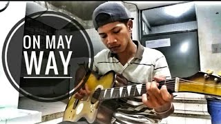 On may way - Alan walker, Sabrina carpenter and Farruco - fingerstyle guitar  Lman e sulaiman.