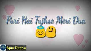 ATIF ASLAM MUSAFIR SONG FEMALE VERSION WITH LYRICS / WHATSAPP STATUS SONG