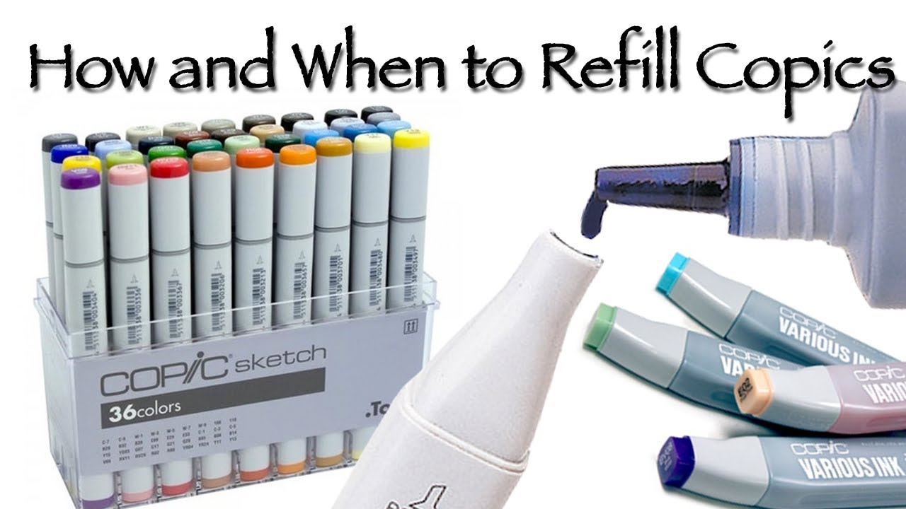 How to Refill Copic Markers