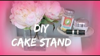 DIY CAKE STAND, Arts & Crafts