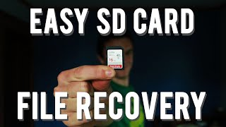 How To Recover Deleted Files From An SD Card! - How to recover files from a formatted SD card FREE!