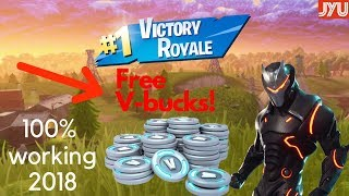 How to get free V-bucks in Fortnite! 100% working
