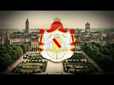"""Grand Duchy of Baden (1806–1918) """"Badnerlied"""" +Eng subs"""