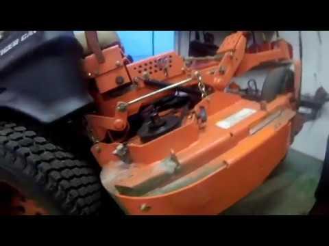 Scag Hurricane Mulch Kit Install Youtube