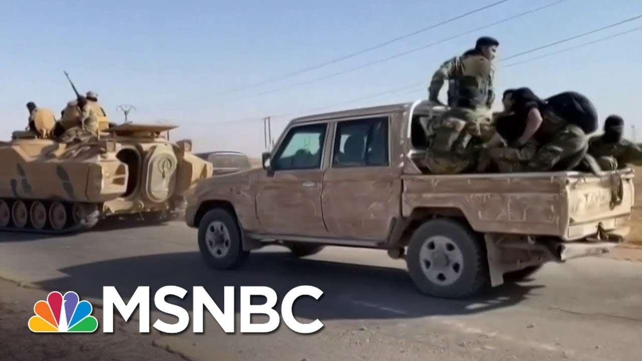 Hundreds Of ISIS Family Members Escape Camp In Syria Amid Turkish Advance | MSNBC