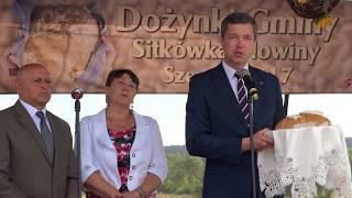 Dożynki gminy Sitkówka-Nowiny w Szewcach 15.08.2017