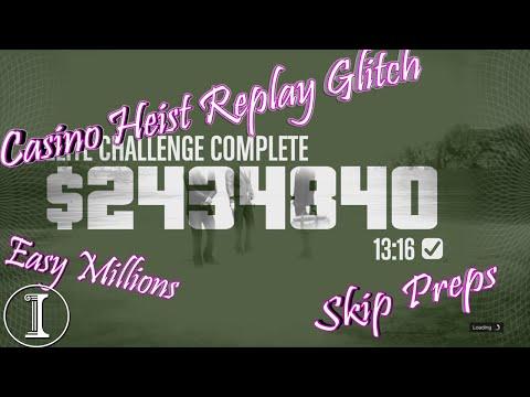 (EASY) GTA Diamond Casino Heist Replay Glitch (B2B)   WITH GOLD GLITCH 2.0   BOGDAN GLITCH 2.0