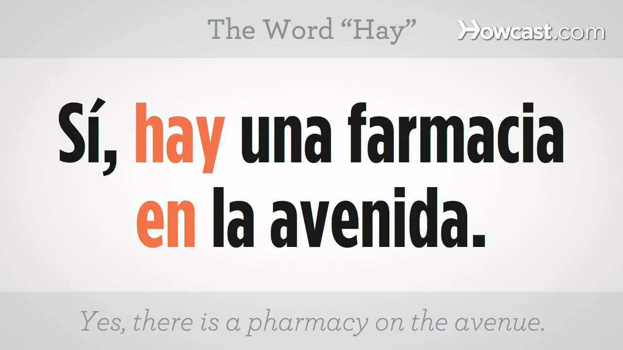 how to say words in spanish