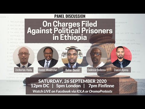 On Charges Filed Against Political Prisoners in Ethiopia