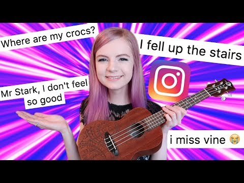 I wrote a song using only your instagram comments 3!