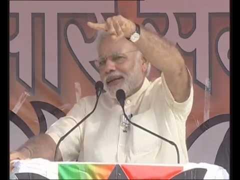 PM Modi at Parivartan Rally in Muzaffarpur, Bihar
