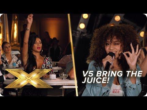 V5 bring the JUICE! | X Factor: Celebrity
