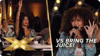 V5 bring the JUICE! | X Factor: Celebrity