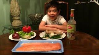 Philippine Ceviche Salmon (kilawing Salmon) By Chef Rafi