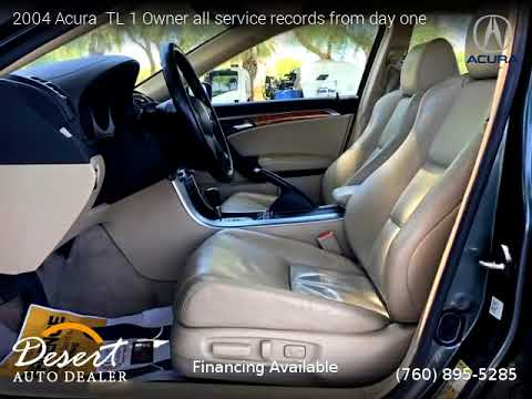2004 acura tl 1 owner all service records from day one desert auto