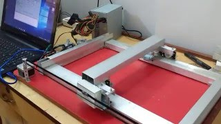 Building a CNC with Arduino Uno and CNC shield : Part 1 Timelapse
