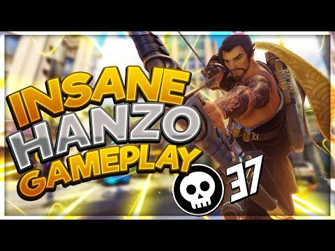 21 Hanzo Killstreak Carry! - Seagull - Overwatch