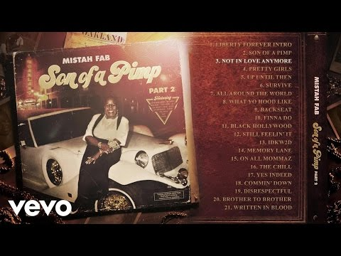 Mistah F.A.B. feat. Netta B's 'Not in Love Anymore' sample of ...