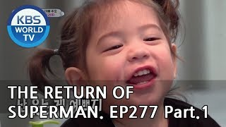 The Return of Superman | 슈퍼맨이 돌아왔다-Ep277:A Lesson Into the Unfamiliar world Pt.1[ENG/IND/2019.05.19]