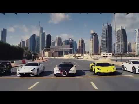 Mobil sport balap drift&drive di kota
