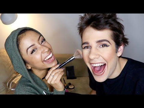 Thumbnail: GIRLFRIEND DOES MY MAKEUP!!