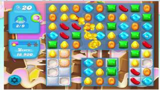 Candy crush soda saga level 68 - No Boosters (with commentary)