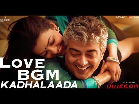 Kadhalaada Love BGM   Vivegam   Anirudh   Ajith Kumar   Siva