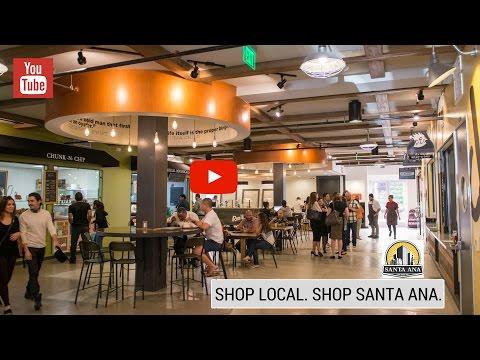 Shop Local. Shop Santa Ana.