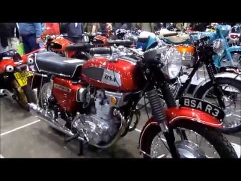 A visit to the Classic Bike Show, Stafford, UK  - Part 1