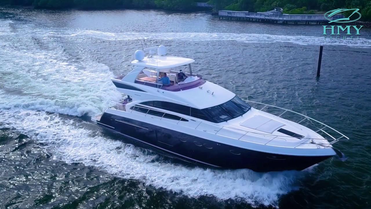 Yacht For Sale 2014 Princess Yachts 64 Flybridge Mirage