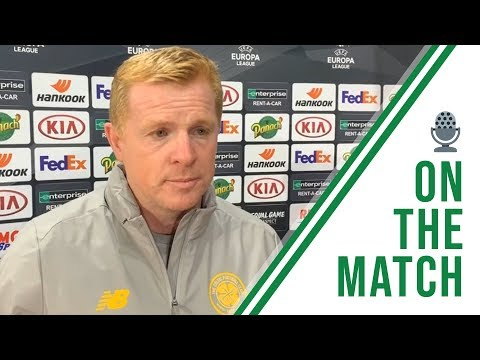 🎙️ Neil Lennon on the Match | Rennes 1-1 Celtic