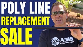 Poly Line Replacement Sale $995