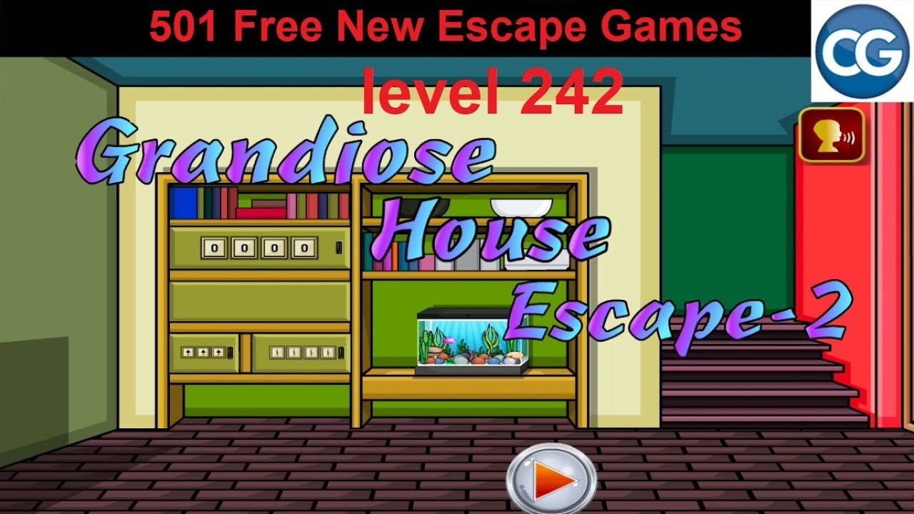 Walkthrough 501 Free New Escape Games Level 242