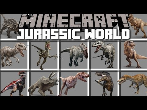 Minecraft JURASSIC WORLD MOD / FALLEN...