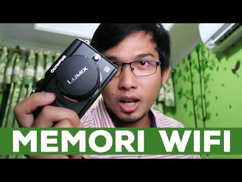 Menambahkan Fitur Wi-Fi pada kamera dan cara memindahkan foto tanpa kabel