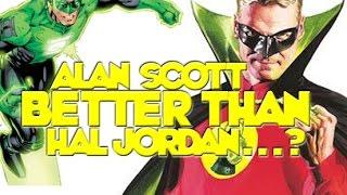 Green Lantern: Alan Scott Mejor Que Hal Jordan Para El CW? Vamos A Hablar!
