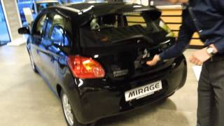 New Mitsubishi Space Star 2013 review (Mirage)
