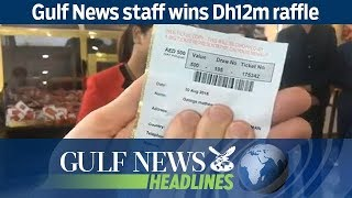 Gulf News staff wins Dh12m raffle - GN Headlines
