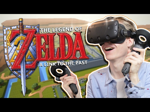 ZELDA IN VIRTUAL REALITY! | The Legend of Zelda: A Link to the Past VR (HTC Vive Gameplay)