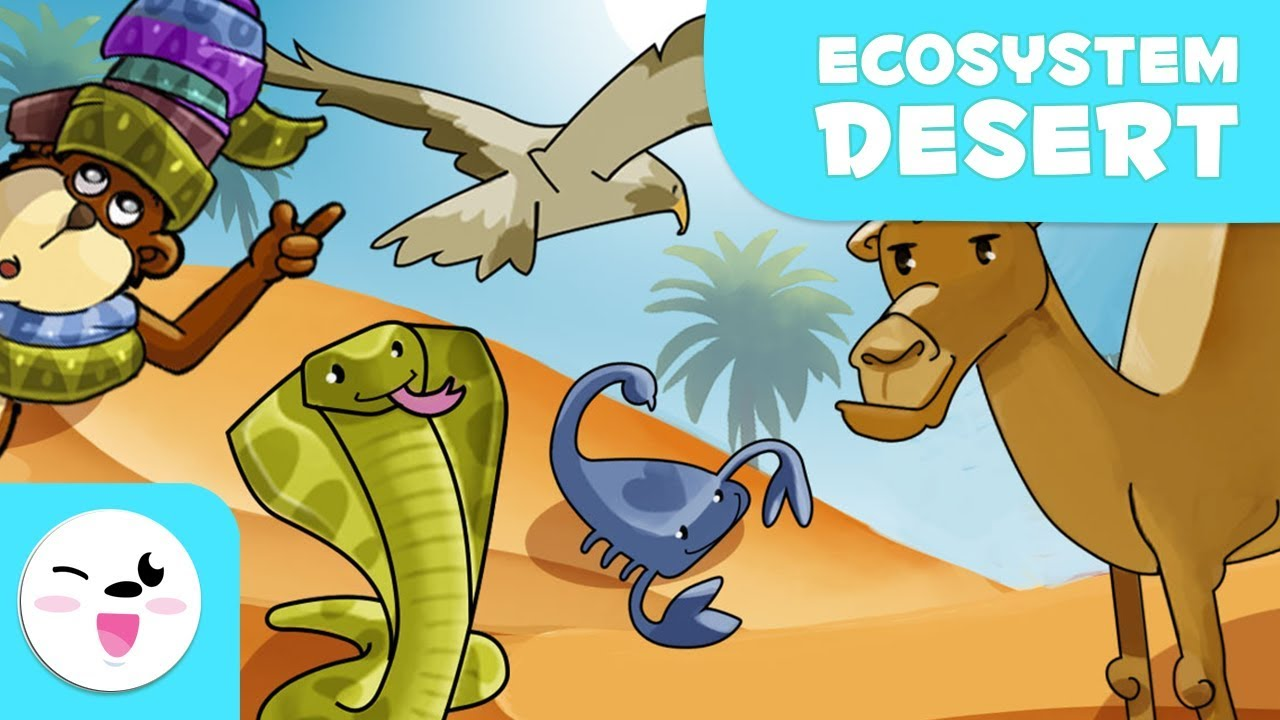 Animals of the Desert - Learning Ecosystems for Kids - YouTube