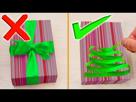 Gift Wrapping Ideas And Hacks