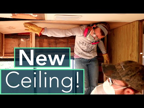 rv-water-damage-repair-+-installing-ceiling-insulation/paneling