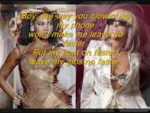 Telephone- Lady GaGa Feat. Beyonce (Official Song)