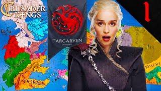 DAENERYS SAILS TO WESTEROS Crusader Kings 2 Game of Thrones House Targaryen 1
